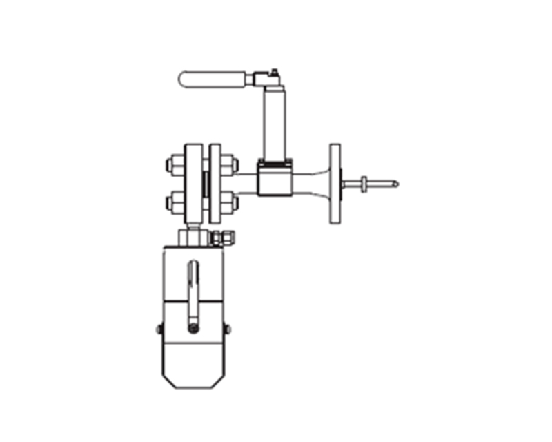 BLB1 On-off Type with In-line Ball Valve