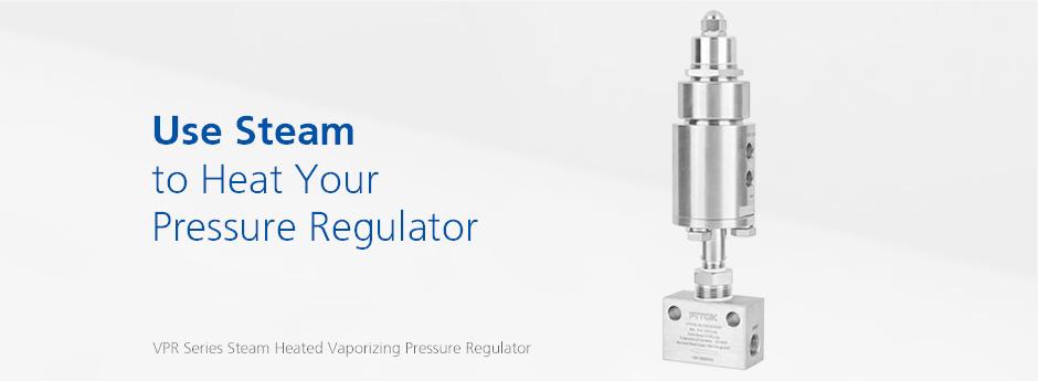 VPR Series Steam Heated Vaporizing Pressure Regulator