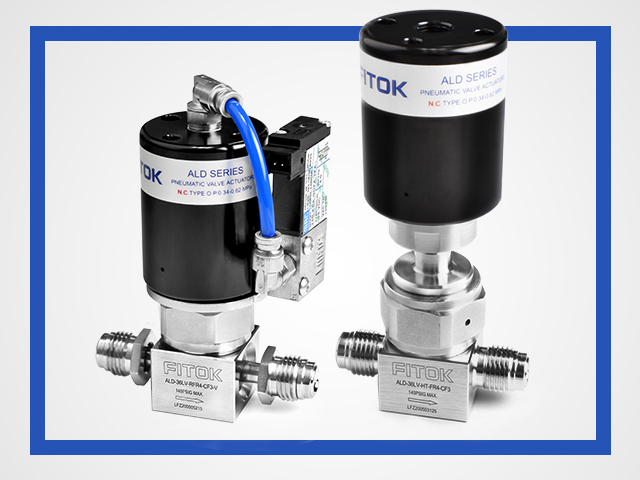 Semiconductor Application- FITOK ALD Series Atomic Layer Deposition Diaphragm Valves