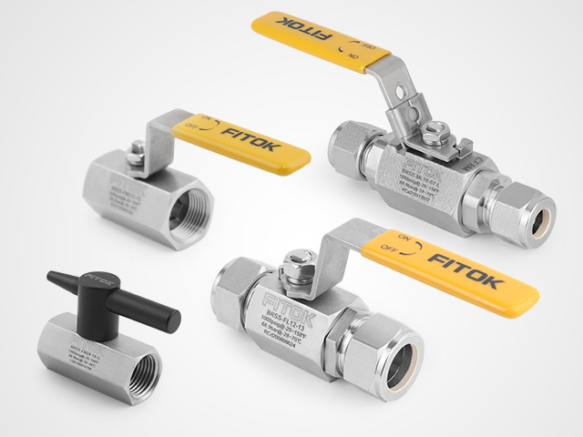 Low-cost Ball Valves for Medium & Low Pressure Pipelines - FITOK BR and BRC Series